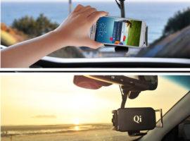 Бездротовий зарядний пристрій для мобільного у авто