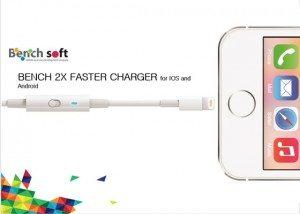 Bench X2 faster charger швидка зарядка телефону оптом з Кореї КОРЕКСПЕРТ