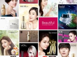 Корейская косметика оптом The Face Shop, Etude House, its skin, O hui та інші