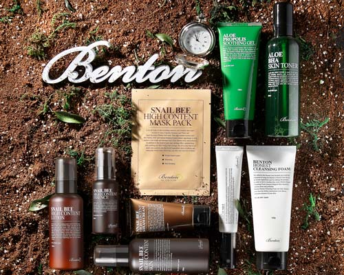 Бентон – Корейська лікувальна косметика оптом